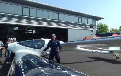 Le premier avion hybride Eraole a réussi son atterrissage à Angers