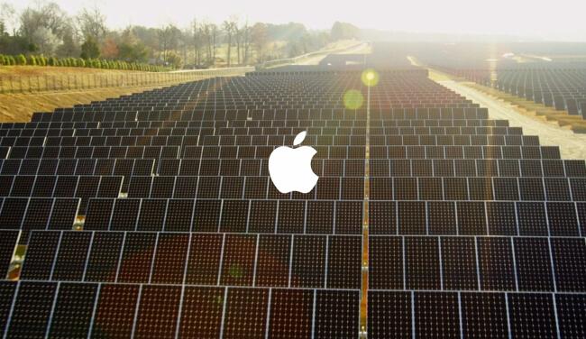 Apple, Facebook, Google … dans la course à l'énergie 100 % renouvelable