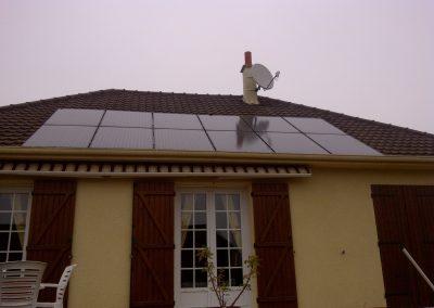 Mr Clément, Thoré La Rochette, Photovoltaique