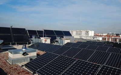 Une centrale solaire en autoconsommation sur le toit d'un lycée !